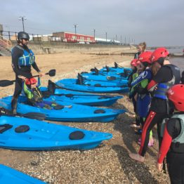 Introduction to Kayaking – Lesson (deposit)
