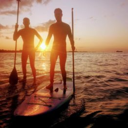 Sunset SUP Session
