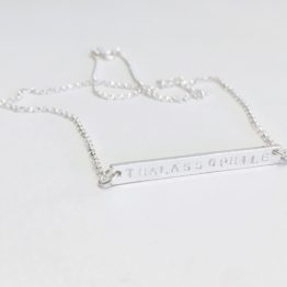 Thalassophile Bar Necklace