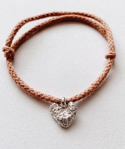 Cotton Cord Bracelet – Choose Charm