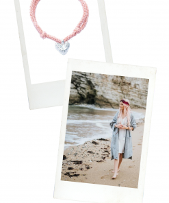 Coral Heart | Cotton Cord