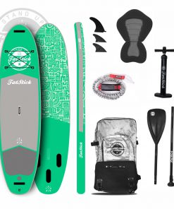 Snot Rocket Inflatable Paddle Board 10'6 Package