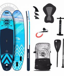 PURE ART INFLATABLE PADDLE BOARD 10'6 PACKAGE